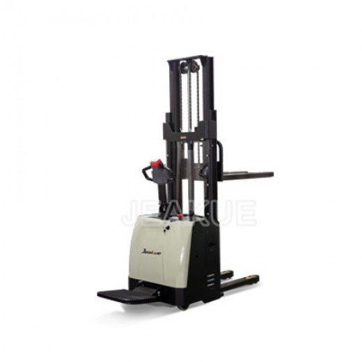 1.2-1.5T Stand On Full Electric Stacker with EPS Electric Power Steering