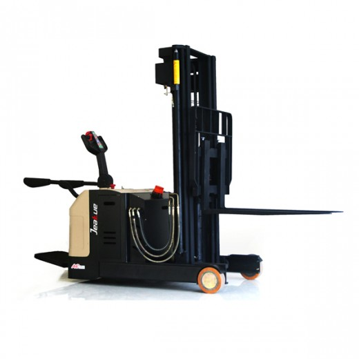 1T Fork Reach Full Electric Stacker
