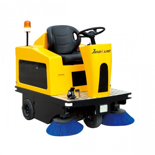 Ride-on Street Sweeper for Industrial Cleaning