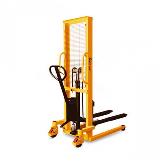 Manual Hydraulic Stacker(fork is adjustable)