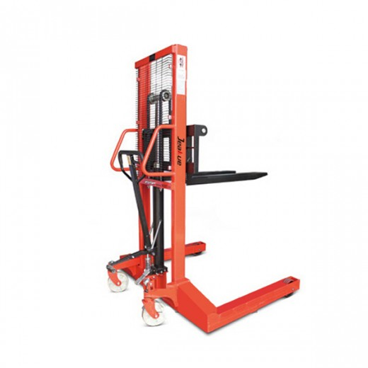 Manual Hydraulic Straddle Stacker