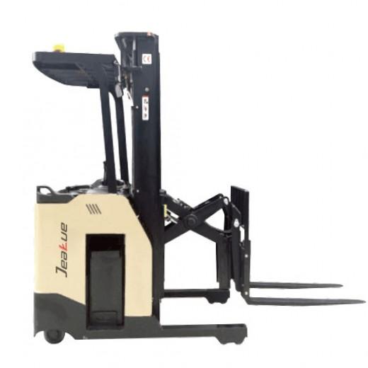 1.5T Electric Single Scissor Standing Reach Forklift