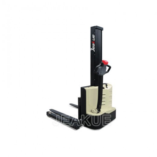 1-1.2T Single Column Straddle Full Electric Stacker