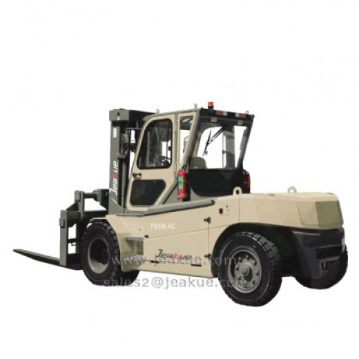8-12T Four Wheels Electric Forklift Truck